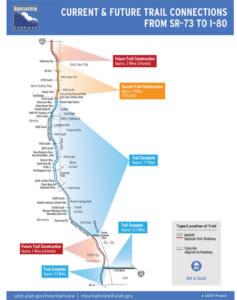 Mountain View Corridor Trails & Bike Lanes - April 2020
