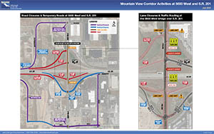 Mountain View Corridor Activities at 5600 West and S.R. 201 - July 2020