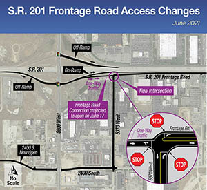 S.R.201 SE Frontage Road Map - June 2021